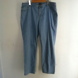 ADDITIONS by CHICO'S Woman's Size 14 Short Jeans
